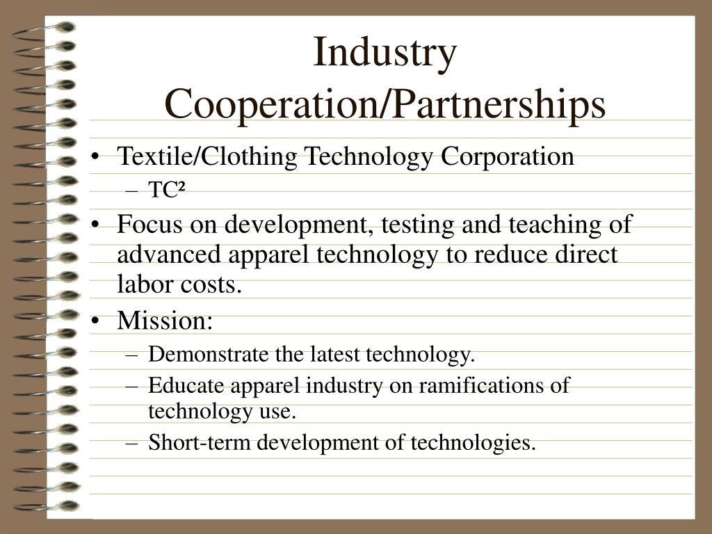Industry Cooperation/Partnerships