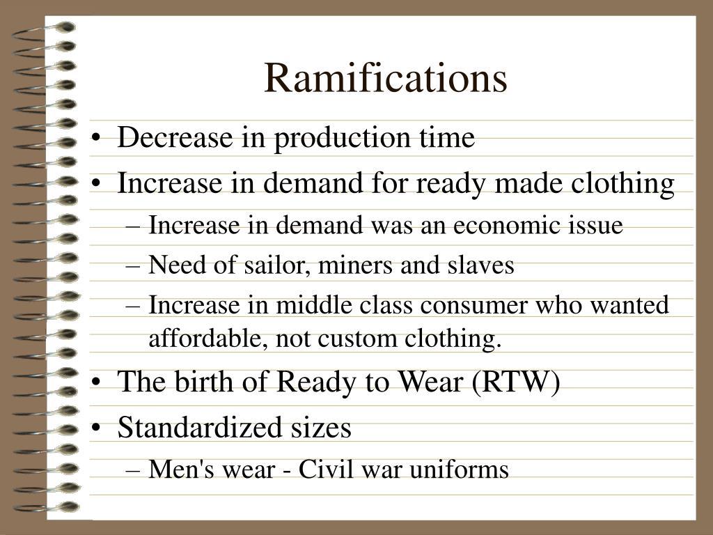 Ramifications