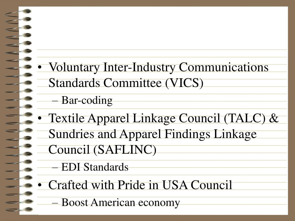 Voluntary Inter-Industry Communications Standards Committee (VICS)