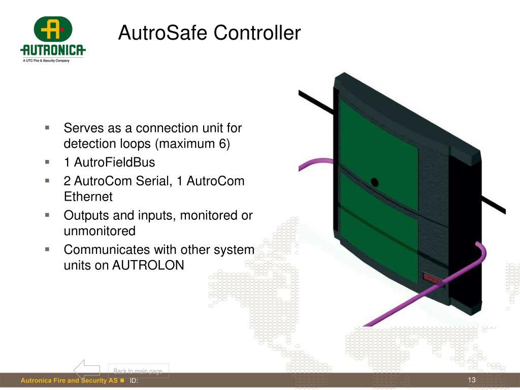 AutroSafe Controller