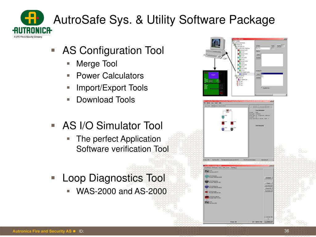 AutroSafe Sys. & Utility Software Package
