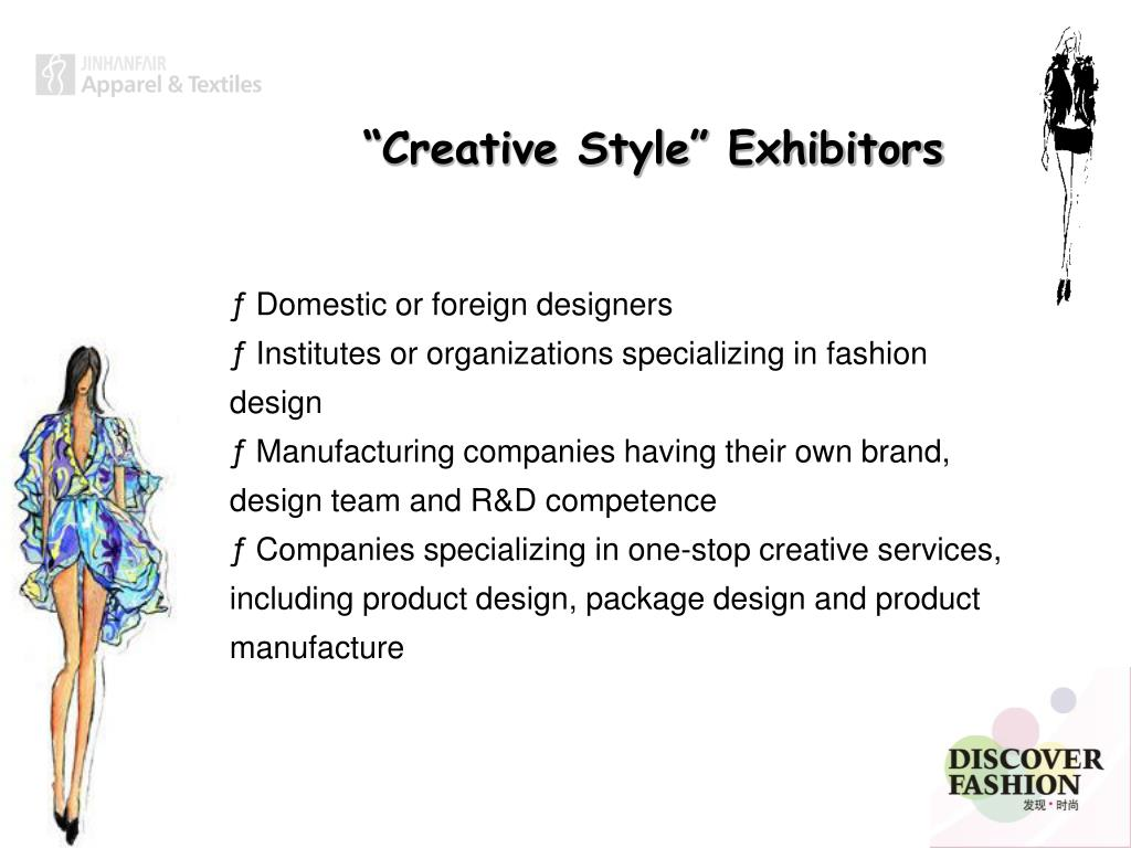 """""""Creative Style"""" Exhibitors"""