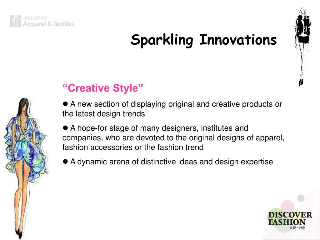 Sparkling Innovations