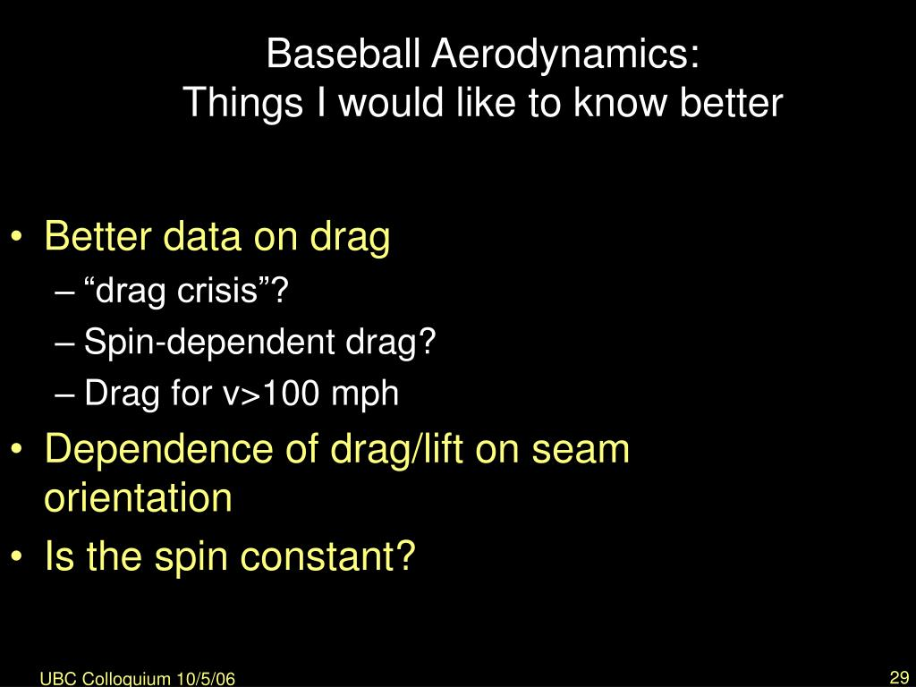 "the physics of baseball essay The physics behind hitting a home run he's even written several peer-reviewed papers a physicist at yale and author of ""the physics of baseball."