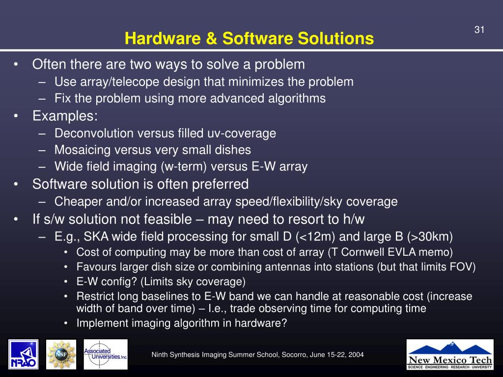 Hardware & Software Solutions