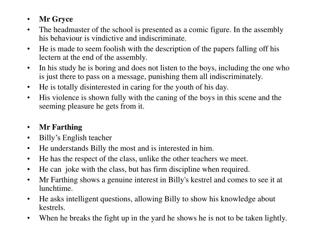 Mr Gryce