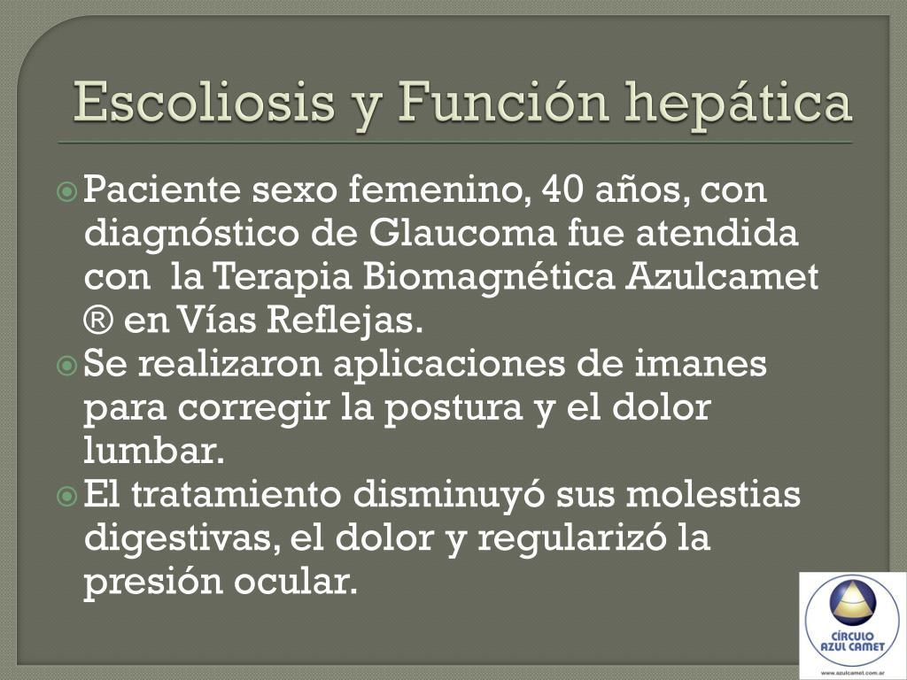 Escoliosis y Función hepática