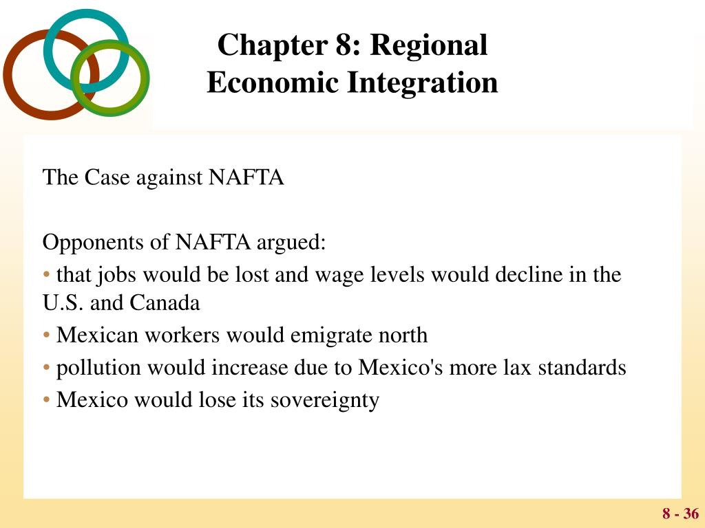 nafta regional integration essay Need essay sample on ftaa and nafta we will write a custom essay sample specifically for you for only $1390/page hire writer little that resembles a public policy instrument yet, upon looking at the historical.