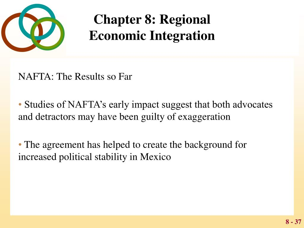 chapter 8 regional economic integration case study