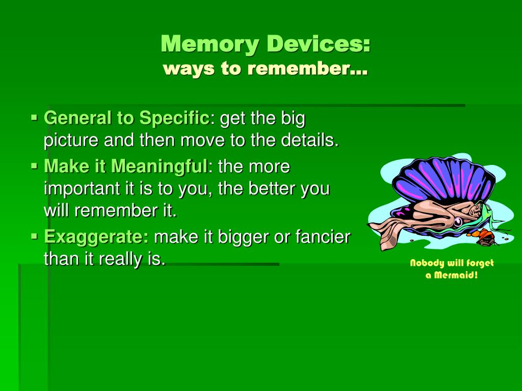 Memory Devices: