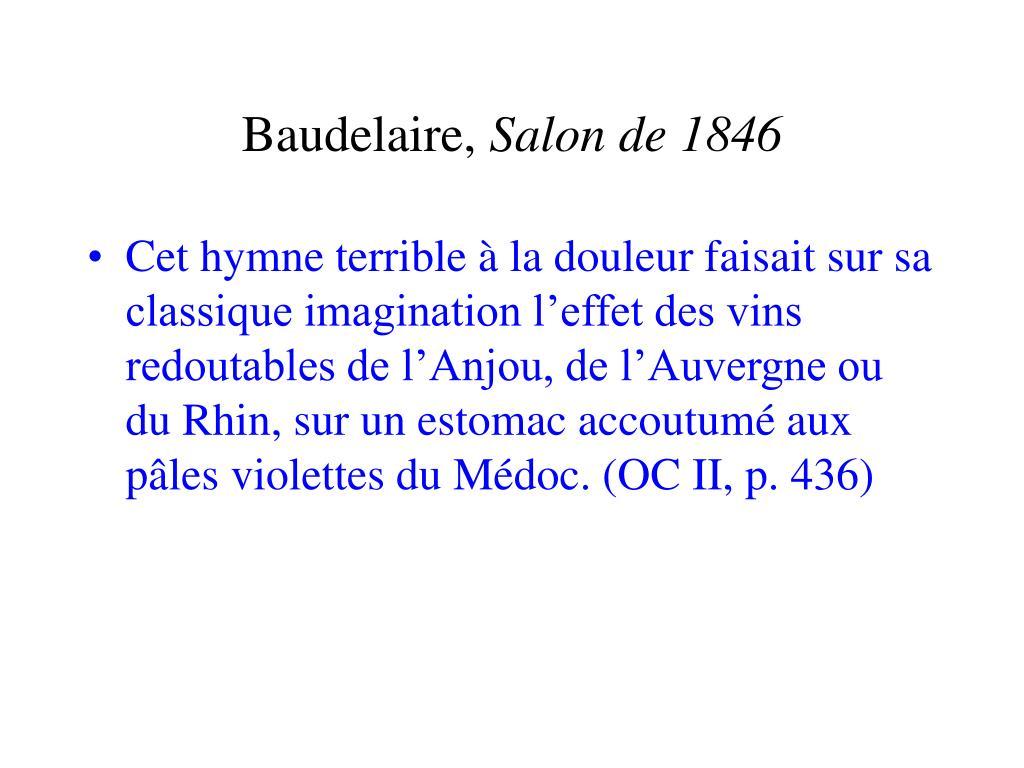 Baudelaire,