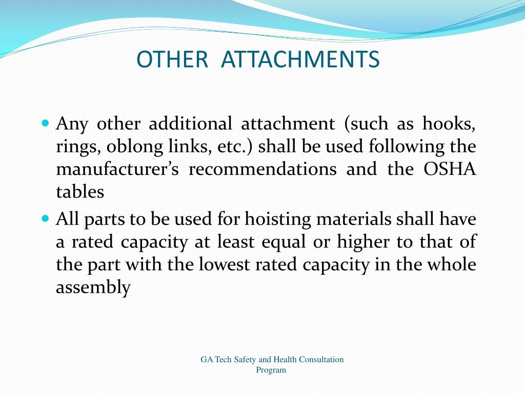 OTHER  ATTACHMENTS