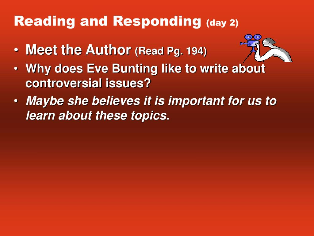 Reading and Responding