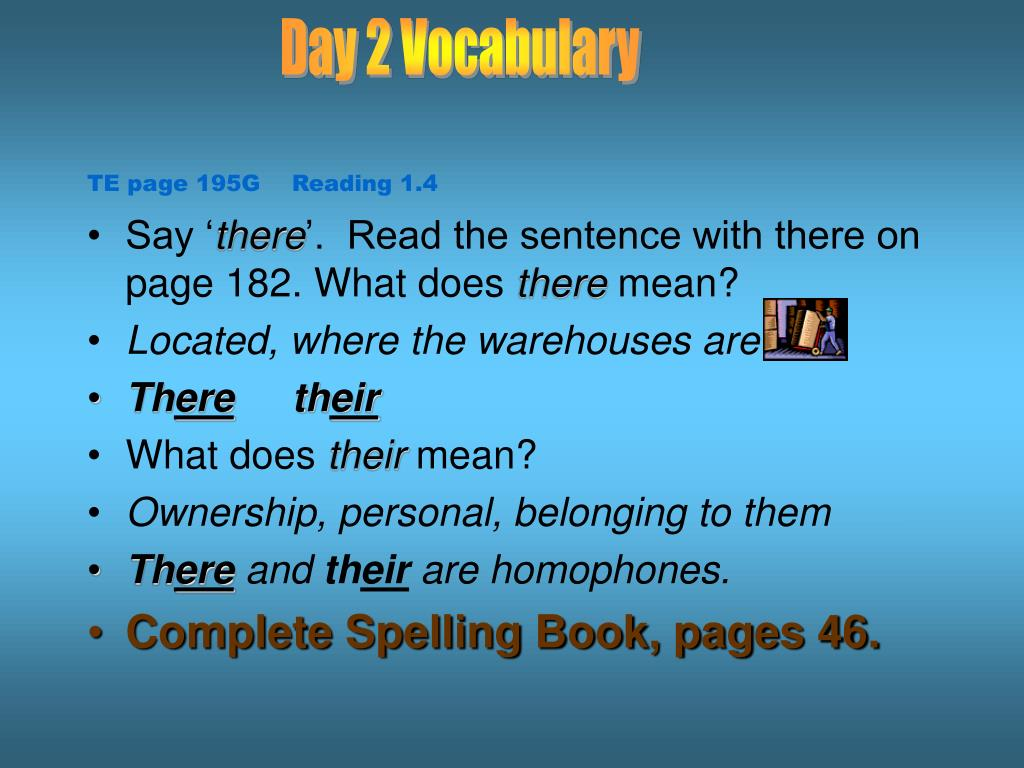 Day 2 Vocabulary