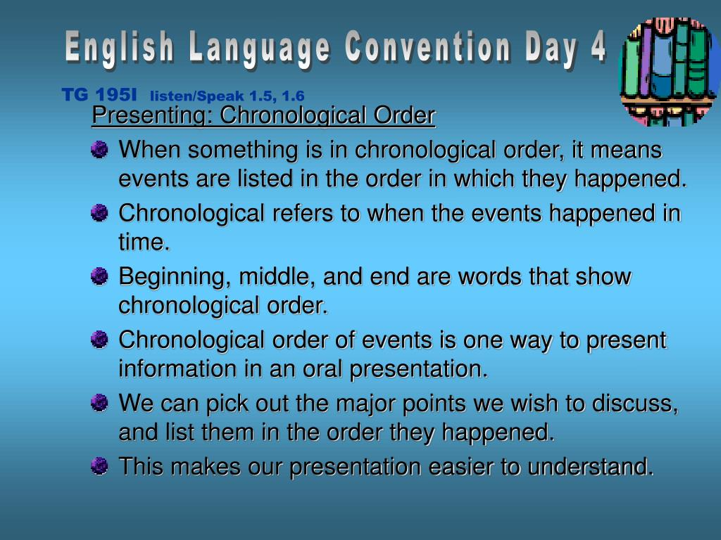 English Language Convention Day 4