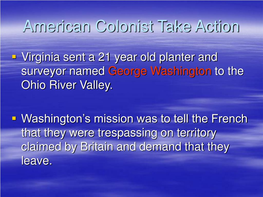 American Colonist Take Action