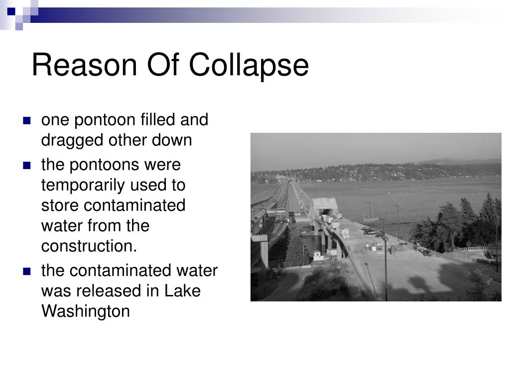 Reason Of Collapse