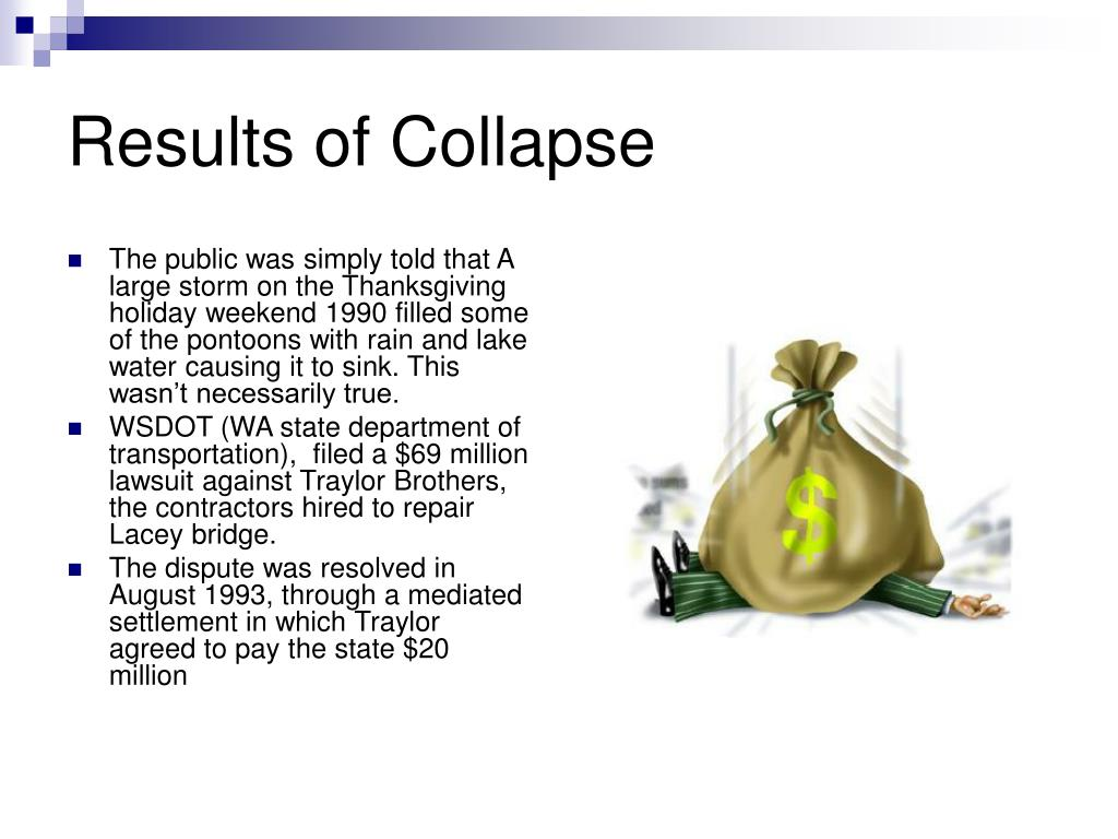 Results of Collapse