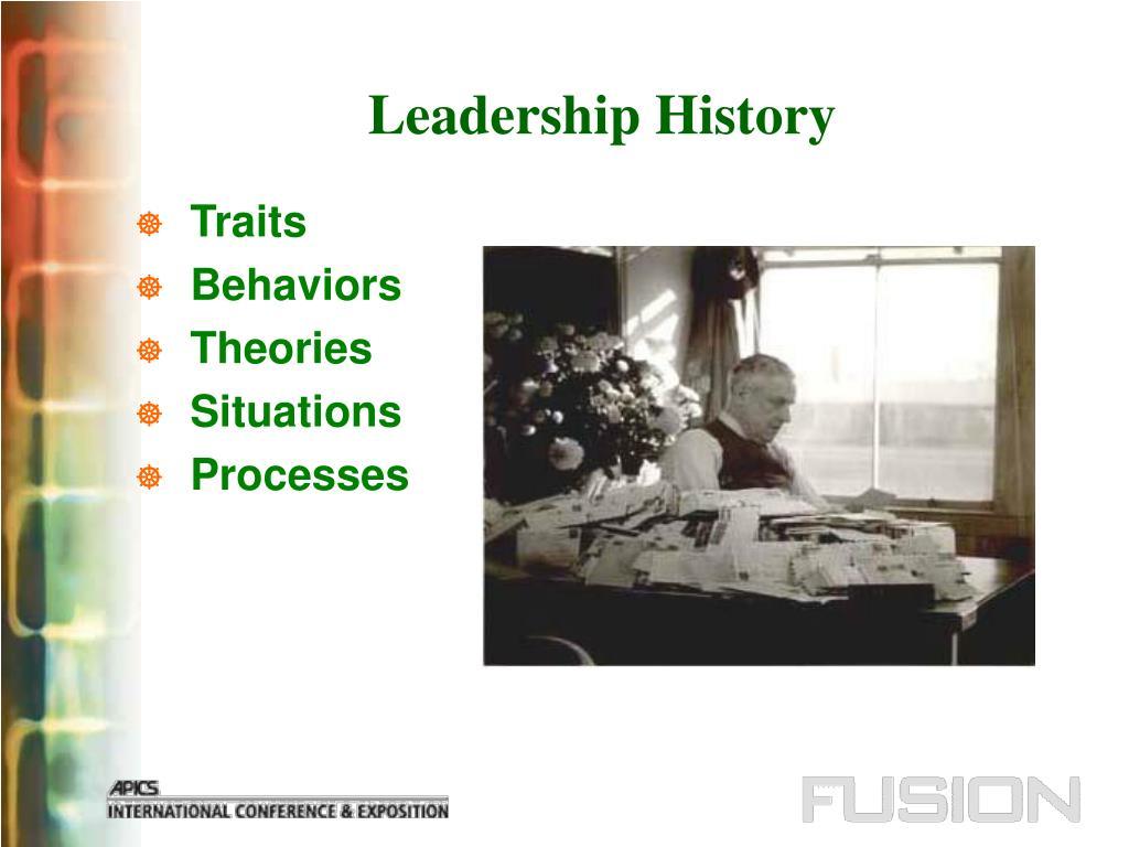 Leadership History