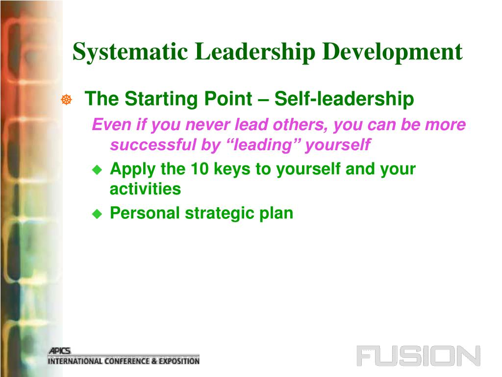 Systematic Leadership Development