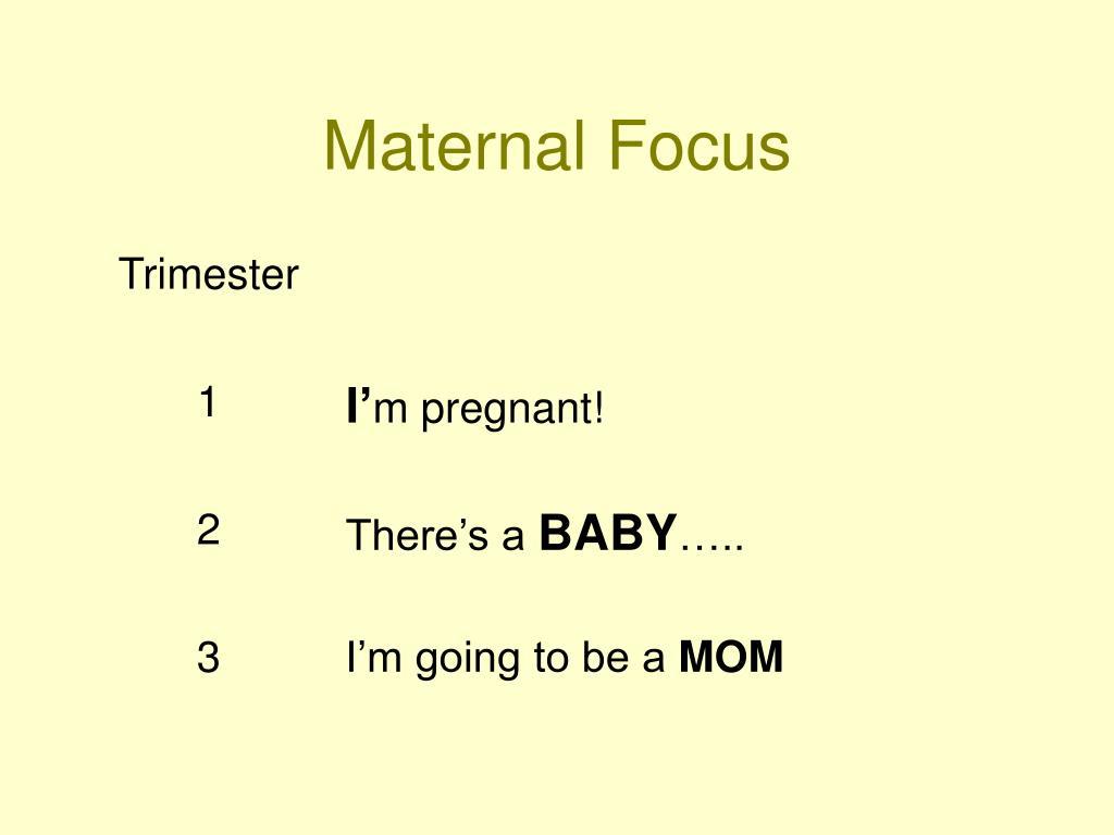 Maternal Focus