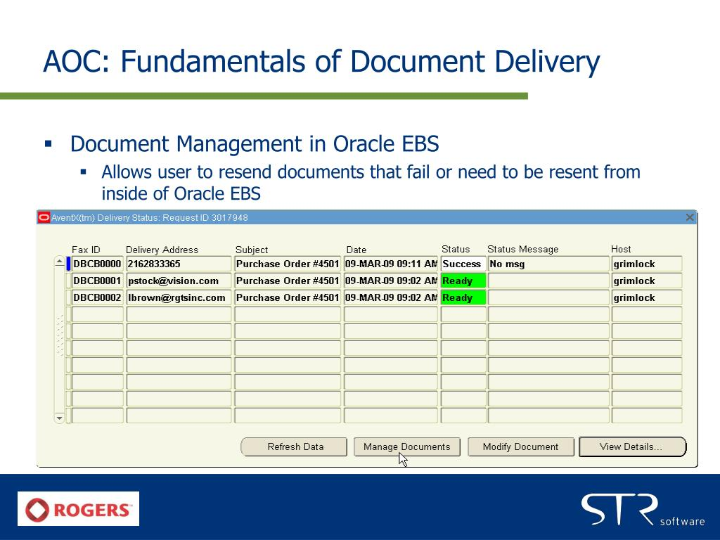 AOC: Fundamentals of Document Delivery