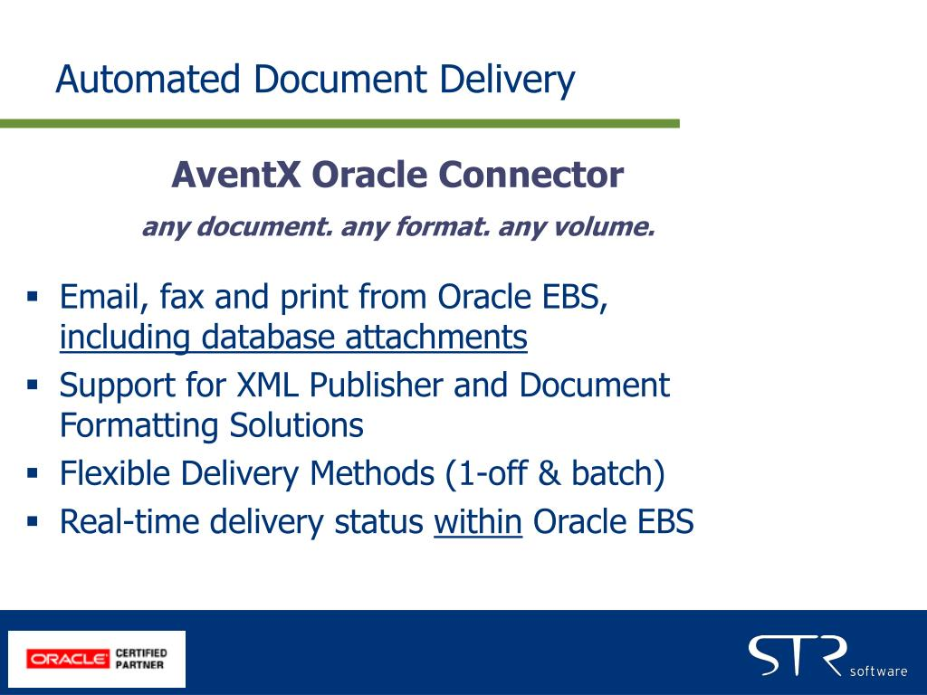 Automated Document Delivery