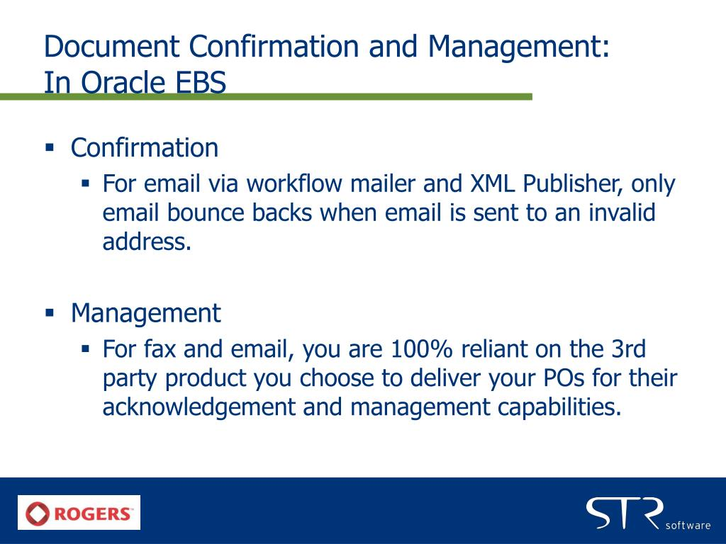 Document Confirmation and Management: