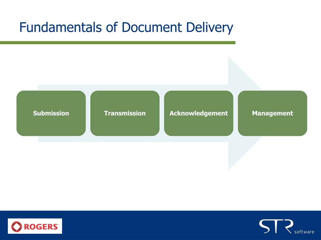 Fundamentals of Document Delivery