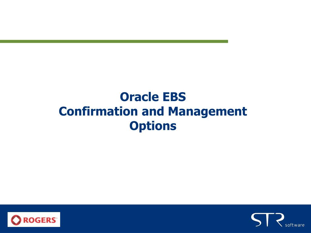 Oracle EBS