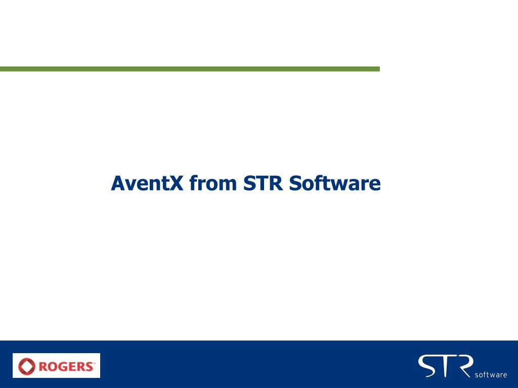 AventX from STR Software