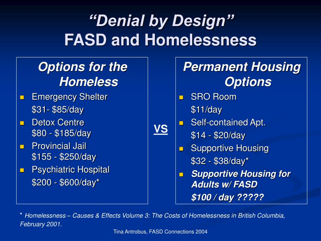 Options for the Homeless