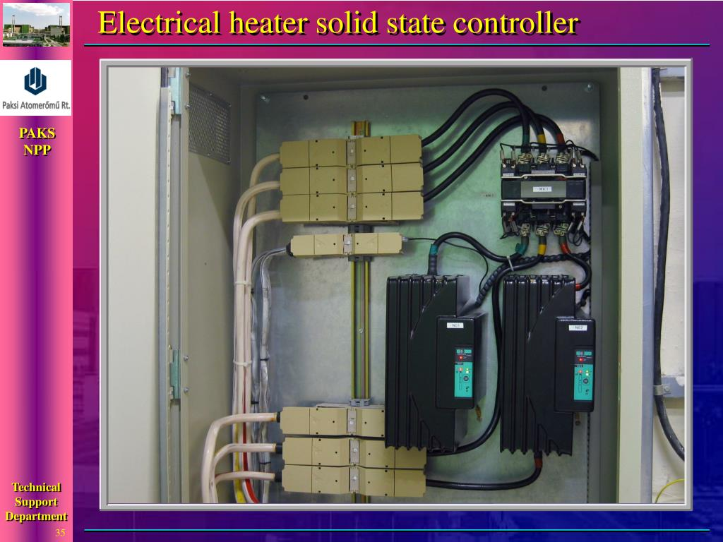 Electrical heater solid state controller