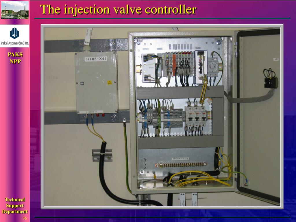 The injection valve controller