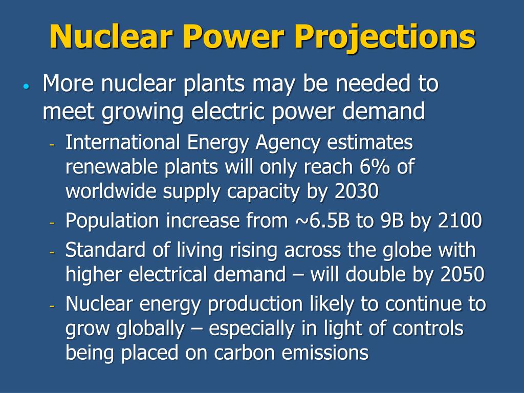 Nuclear Power Projections