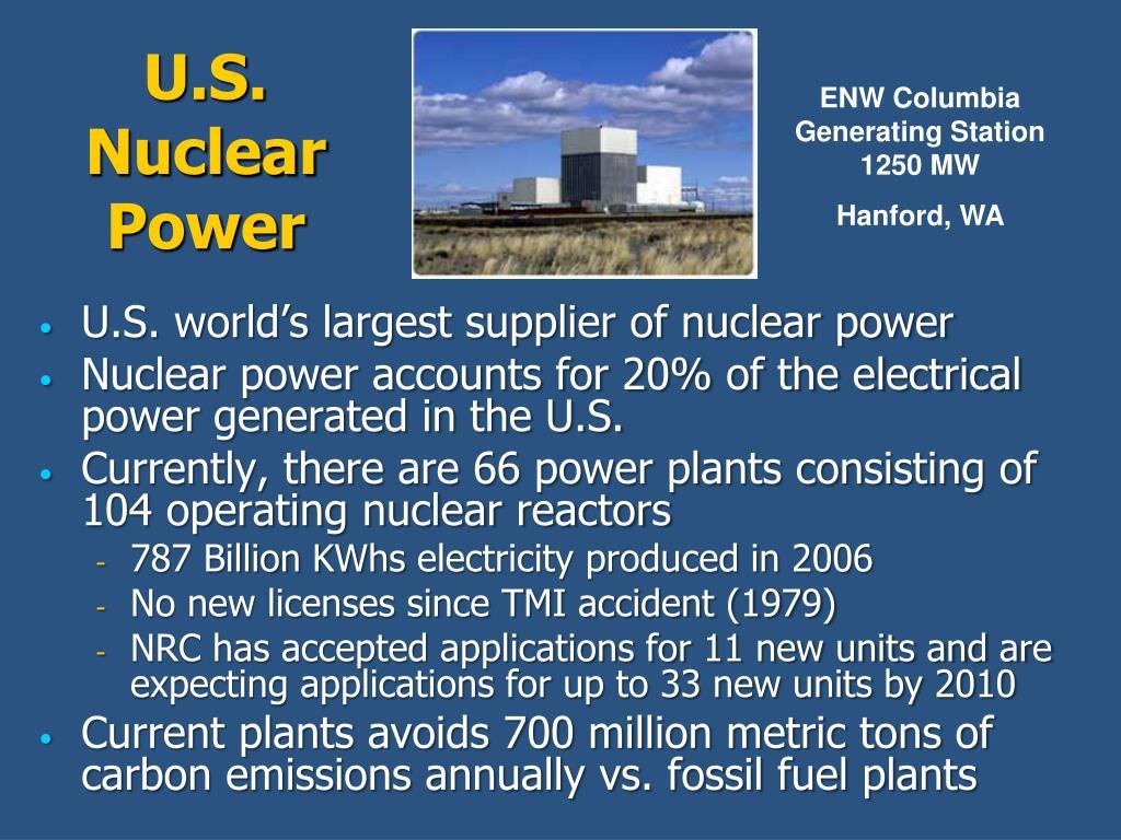 U.S. Nuclear Power