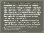 fundamentos 3 dimensiones criticas