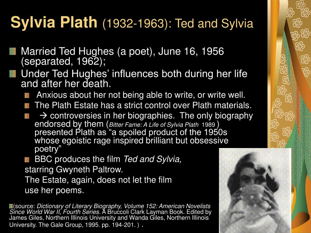 poetry and the marriage of sylvia plath and ted hughes essay
