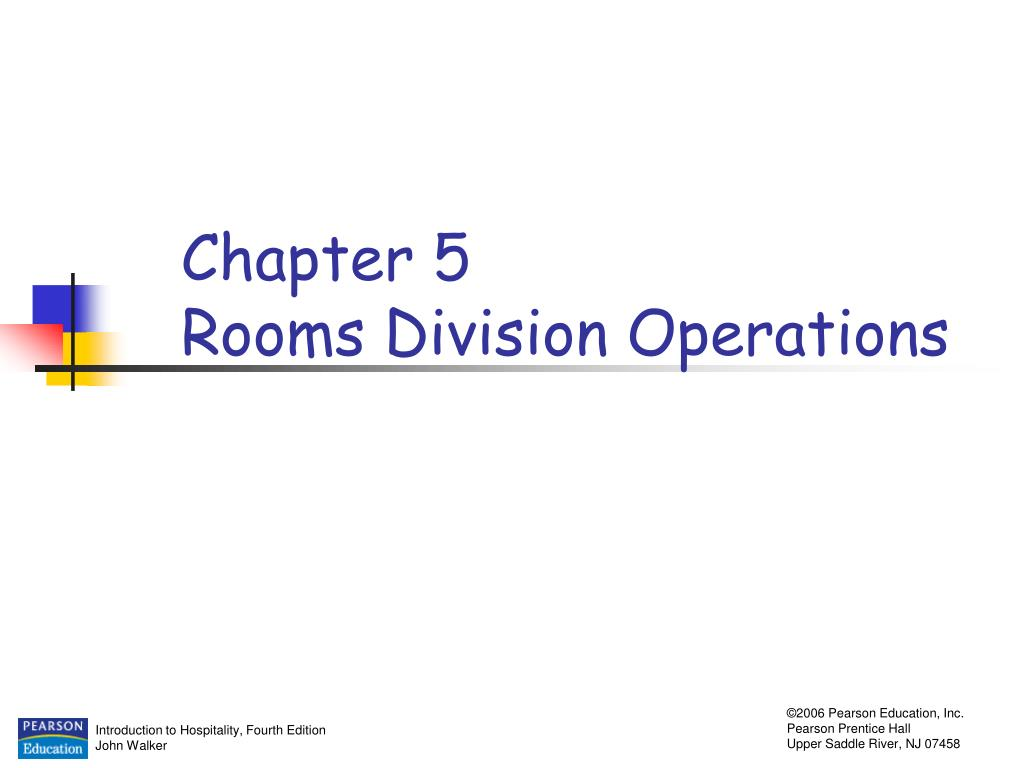 Functions And Services Provided By Rooms Division