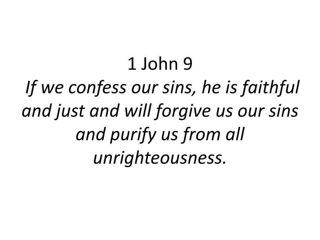 1 John 9