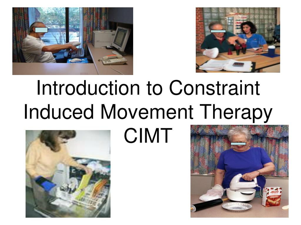 Introduction to Constraint Induced Movement Therapy