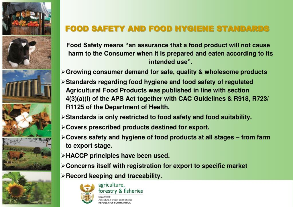 PPT - FOOD SAFETY AND FOOD HYGIENE PowerPoint Presentation ... Food Safety And Hygiene