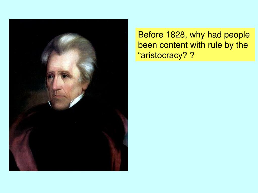 Before 1828, why had people