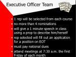 executive officer team
