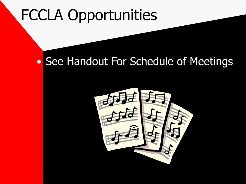 FCCLA Opportunities