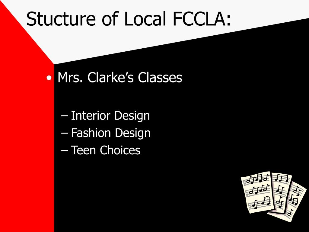 Stucture of Local FCCLA: