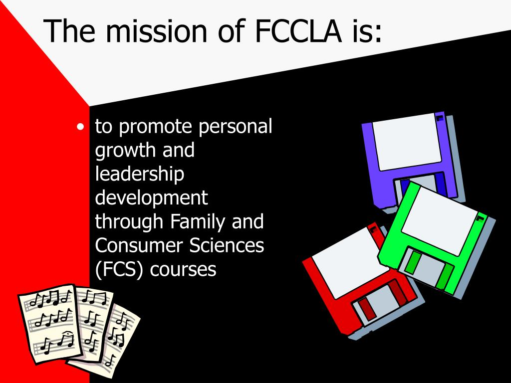 The mission of FCCLA is: