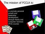 the mission of fccla is