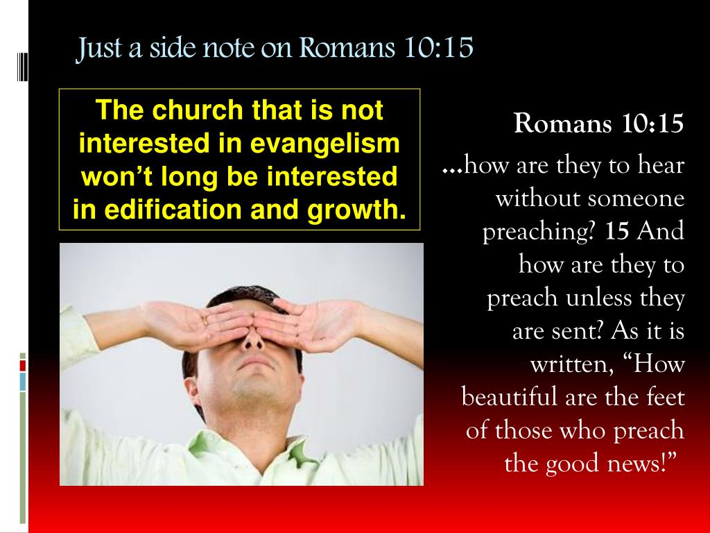 Just a side note on Romans 10:15