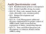 audit questionnaire cont9